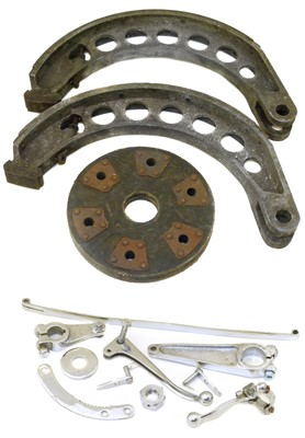 Lot 2-1920/29 Bentley parts to include