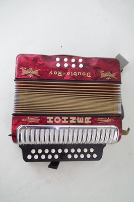 Lot 46-Hohner Double Ray accordion.