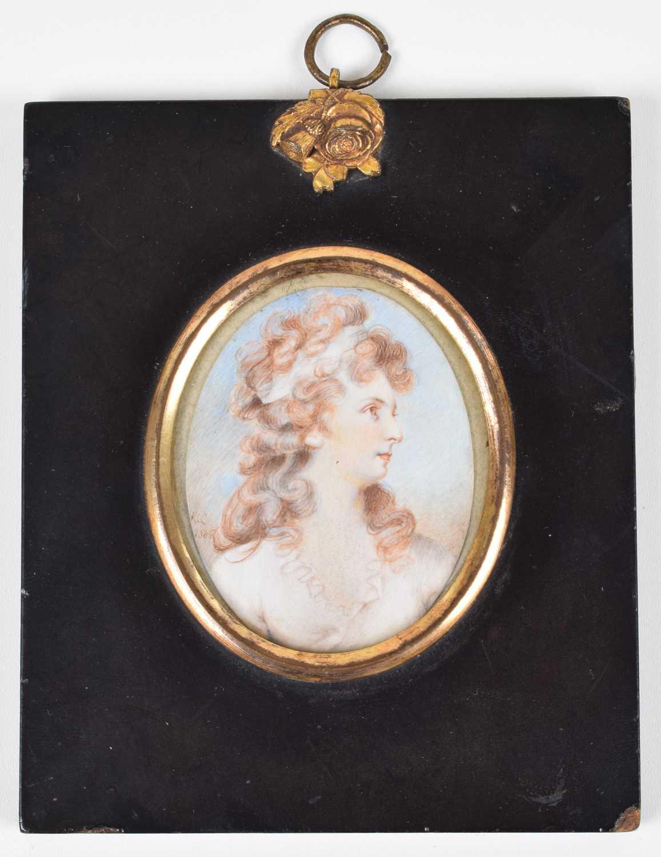 Lot 10-Circle of Richard Cosway R.A. (1742-1821)