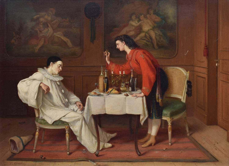 Lot 12-Theodore Ceriez (Belgian, 1832-1904)