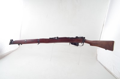 Lot 52-London Small Arms .303 Fultons Regulated SMLE bolt action rifle