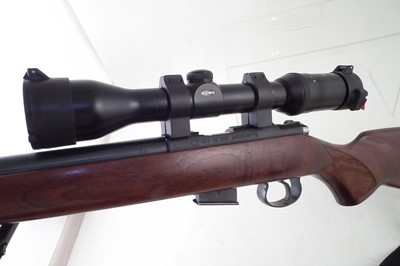Lot -CZ American .177HMR bolt action rifle with Meopta 3-9x44 scope