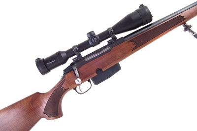 Lot -Tikka M695 6.5 x 55 bolt action rifle with Zeiss scope