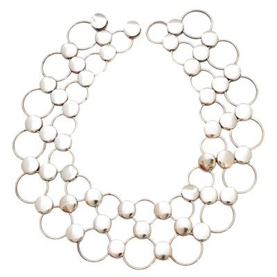 Lot 60-A Georg Jensen collar, pattern no. 464