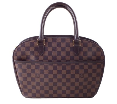 Lot 5-A Louis Vuitton Damier Ebene Sarria Horizontal handbag