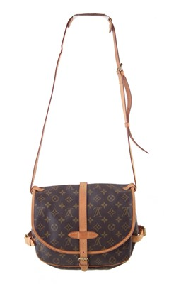 Lot 19-A Louis Vuitton Monogram Samur 25 handbag