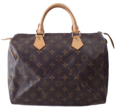 Lot 7 - A Louis Vuitton monogram Speedy 30 handbag