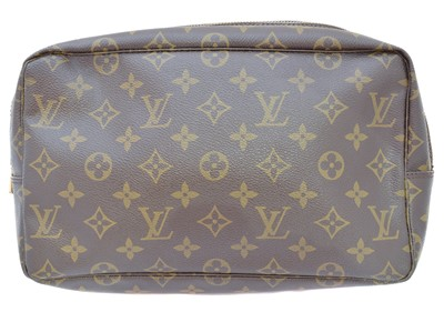 Lot 22-A Louis Vuitton Monogram GM Toiletry Bag