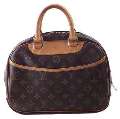 Lot 29-A Louis Vuitton Monogram Trouville handbag