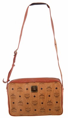 Lot 35-An MCM Monogram Shoulder Bag