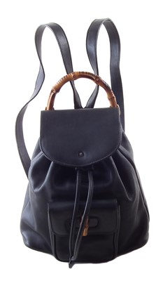 Lot 36-A Gucci Bamboo PM Backpack