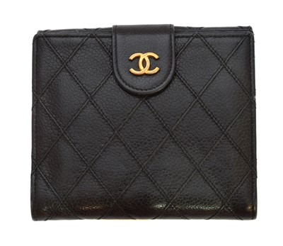 Lot 41 - A Chanel Bifold Flap Wallet