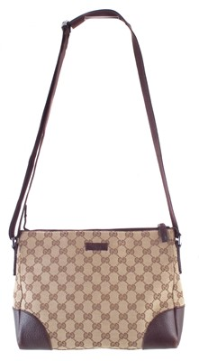 Lot 43-A Gucci Joy monogram canvas Messenger handbag