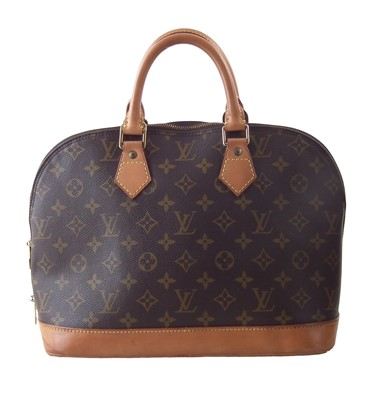 Lot 9-A Louis Vuitton Monogram Alma PM handbag