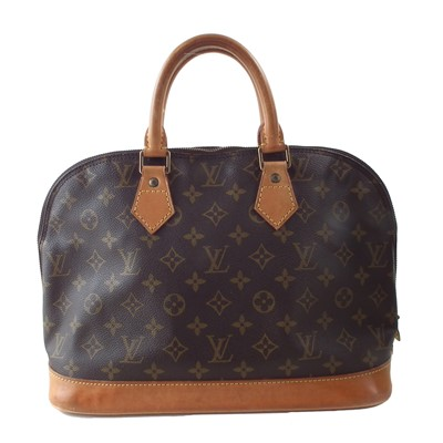 Lot 55-A Louis Vuitton Monogram Alma PM handbag