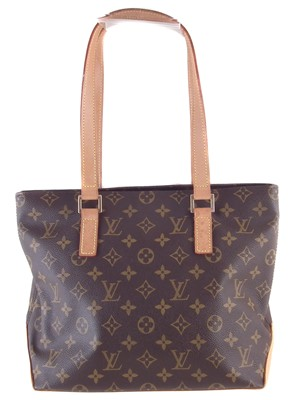 Lot 62-A Louis Vuitton Monogram Cabas Piano handbag