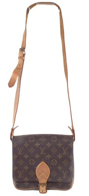 Lot 64-A Louis Vuitton monogram Cartouchiere MM handbag