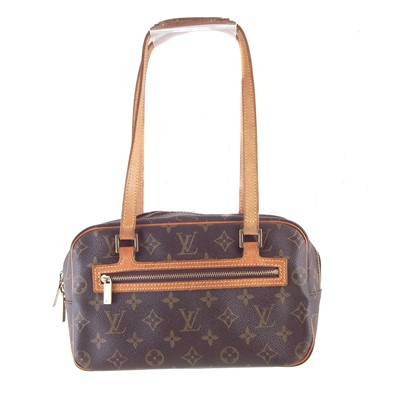 Lot 67-A Louis Vuitton Monogram Cite MM handbag