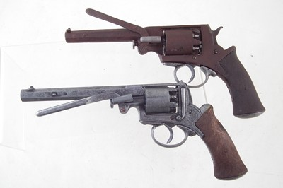 Lot -Relic Adams revolver and one other replica