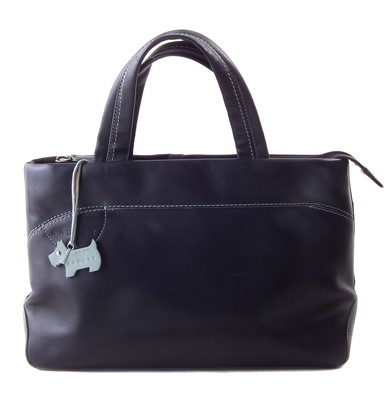 Lot 20-A black leather Radley bag