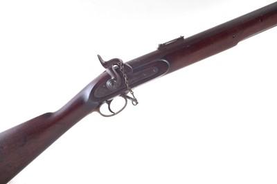 Lot -Fred Barnes sea service pattern .758 calibre rifle