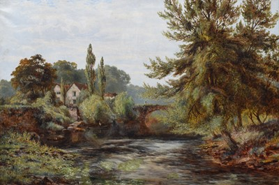 Lot 1-Albert Gyngell (British 1841-1894)