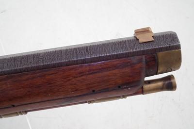 Lot -Italian .45 Flintlock black powder pistol