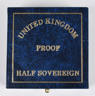 Lot 89 - 1989 Royal Mint, Proof Half-Sovereign, 500th Anniversary Edition.