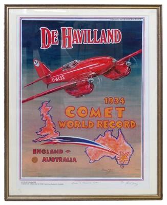 Lot 5-P. May (B. 1925) signed poster.