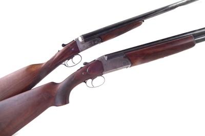 Lot -Two Shotguns by Eibar Jaball and Hilton Gun Co.