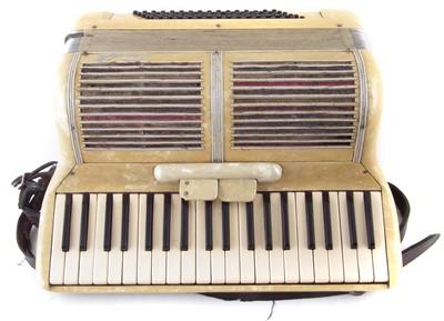 Lot 51-Scandalli piano accordion in case