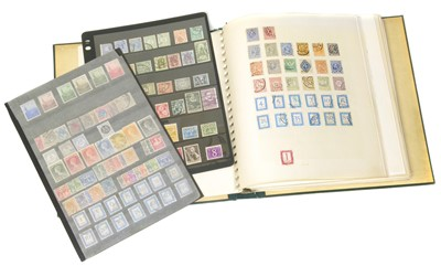 Lot 81-Netherlands & Colonies collection in album and on stockcards