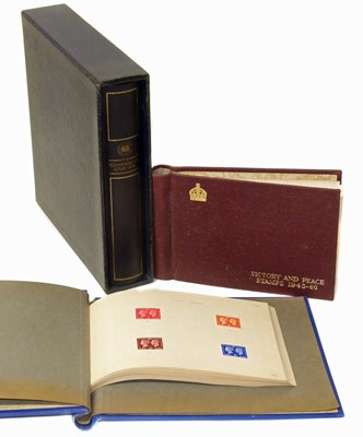 Lot 75-British Commonwealth Omnibus collections in three albums