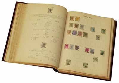 Lot 73-Imperial Album 8th Edition 1897 including GB QV 1d Black