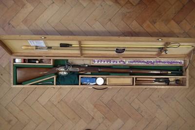 Lot -Parker Hale .451 muzzle loading percussion rifle