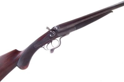 Lot -Bonehill 12 bore side by side hammer gun