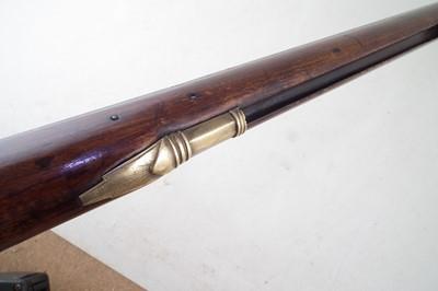 Lot -South African flintlock musket with bobejaanboud butt