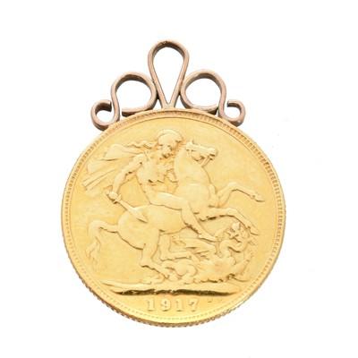 Lot 87 - A George V half sovereign