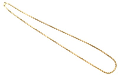 Lot 134 - A chain necklace