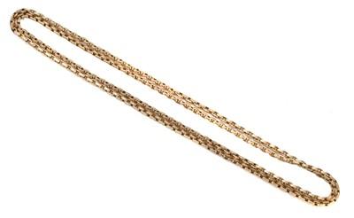 Lot 119 - A longuard chain