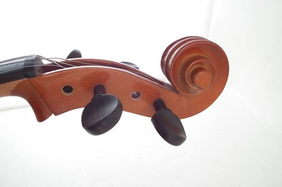 Lot 14-4/4 Cello with slip case