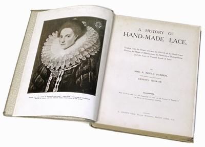 Lot 65-Jackson (F. Nevill) A History of Handmade Lace, 1900