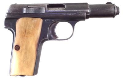 Lot -Deactivated Astra 300 7.65 semi automatic pistol