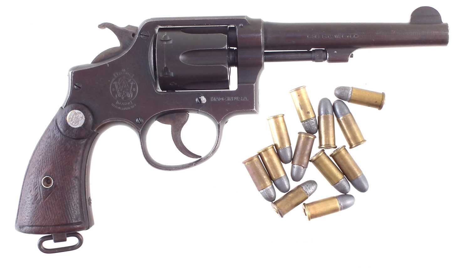 Lot -Deactivated Smith and Wesson .38 Revolver US Property New Zealand Issue