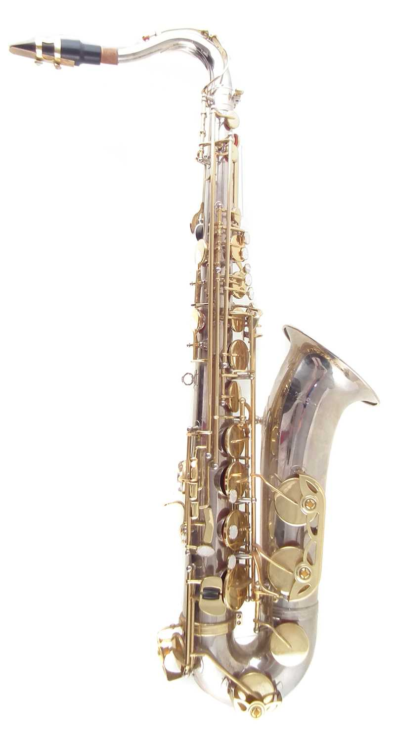 Lot 32-Make star saxophone and case.
