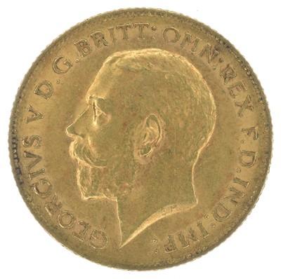 Lot 76-King George V, Half-Sovereign, 1911, London Mint.