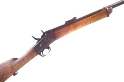 Lot 39-Sporterised Swedish M1867 Rolling block 12mm rifle
