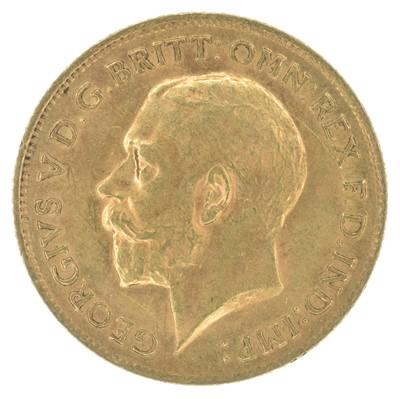 Lot 78-King George V, Half-Sovereign, 1912, London Mint.