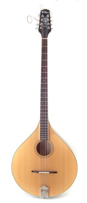 Lot 12-Vintage Bouzouki with case
