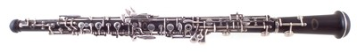 Lot 22-Howarth S5 oboe in case